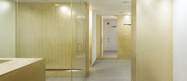Antimicrobial copper surfaces in a medical clinic